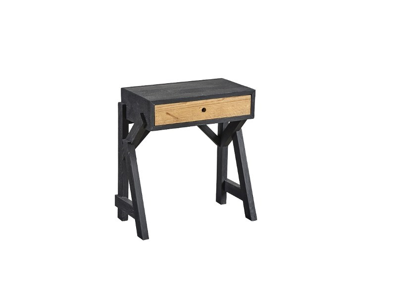 Lacquered pine bedside table with drawers DB004435   Bedside table by Dialma Brown