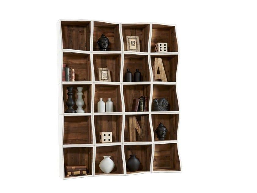 Libreria a giorno laccata modulare in pino DB004562 | Libreria modulare by Dialma Brown