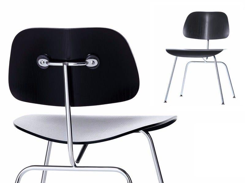 Cadeira de cinza DCM by Vitra