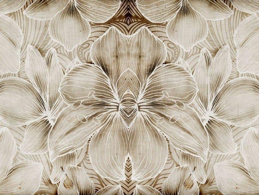 Glass-fibre textile with floral pattern DE-28 by MOMENTI