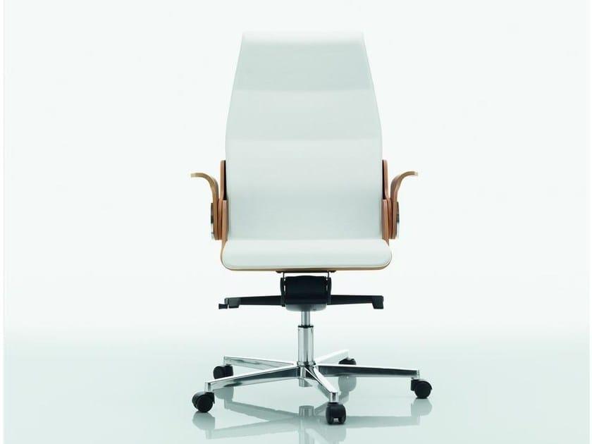 Medium back executive chair DEA | Executive chair by Quadrifoglio