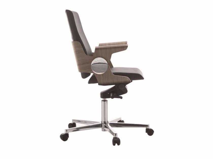 Low back executive chair DEA | Executive chair by Quadrifoglio