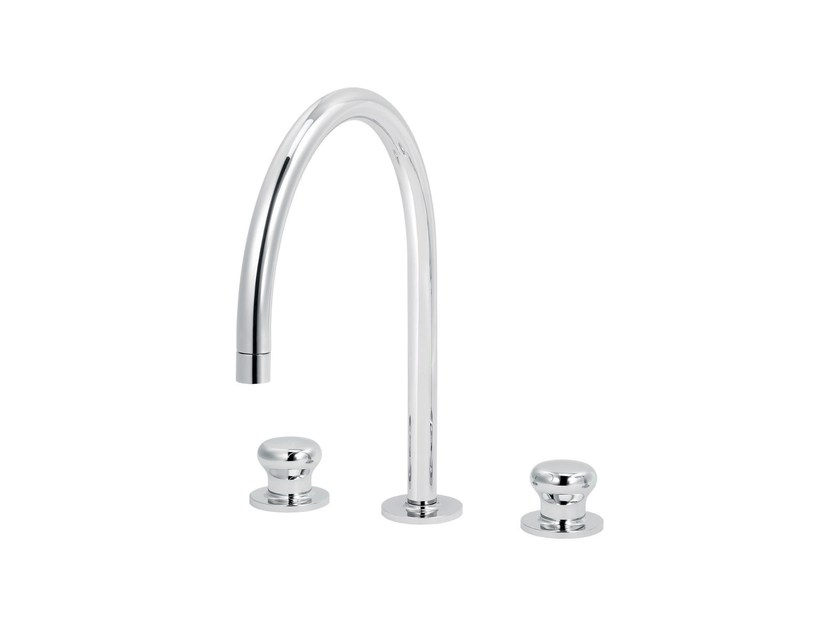 3 hole countertop kitchen mixer tap DEVILLE | 3 hole kitchen mixer tap by rvb