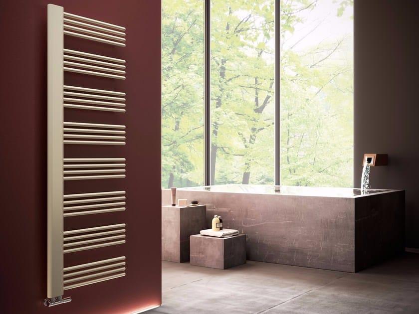 Hot-water vertical towel warmer DEBBY by CORDIVARI