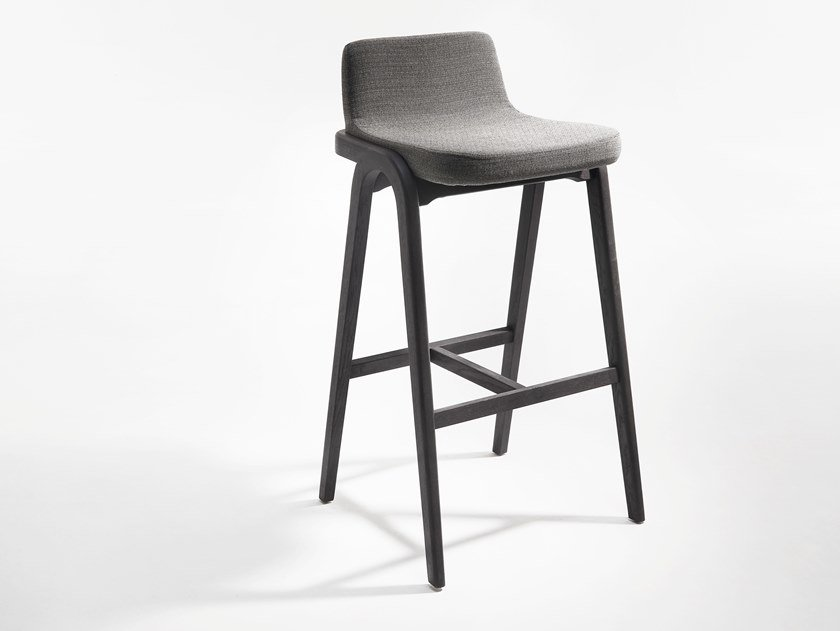 High Stool With Footrest DECANTER | High Stool By Passoni