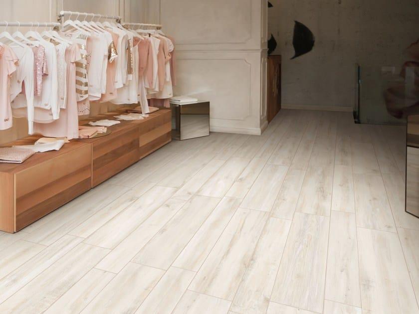 Pavimento in gres porcellanato effetto legno decapÈ ceramica rondine