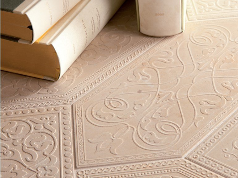 Mosaico in marmo DECO' - CASALE GRANDE by Lithos Mosaico Italia