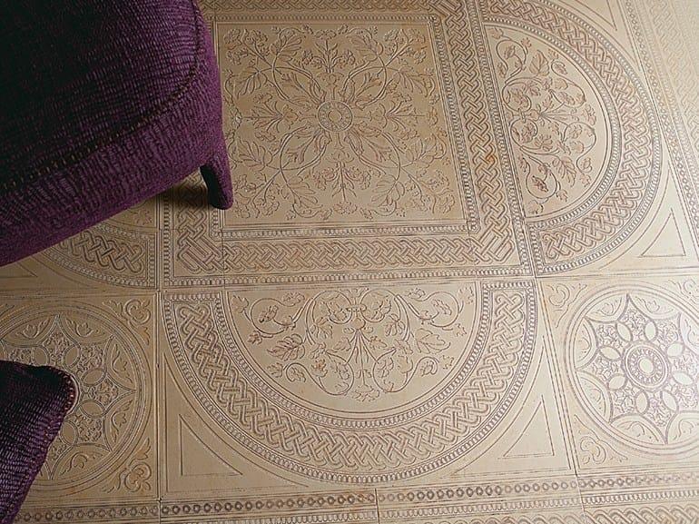 Pavimento/rivestimento in marmo DECO' - CATTEDRALE A by Lithos Mosaico Italia