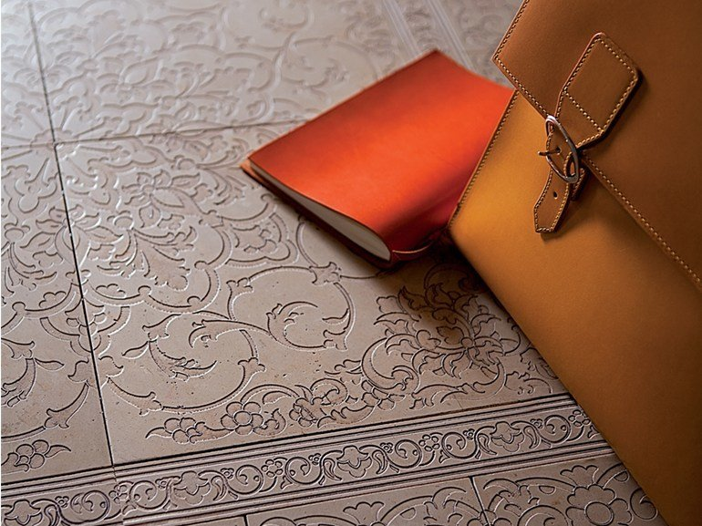 Marble wall/floor tiles DECO' - KASBAH by Lithos Mosaico Italia