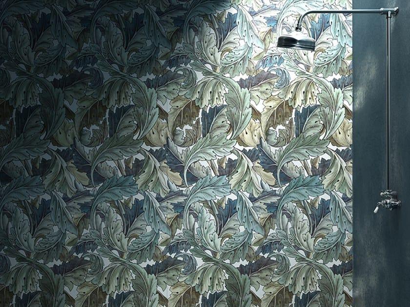 Indoor porcelain stoneware wall tiles DECOR SLABS by Devon&Devon