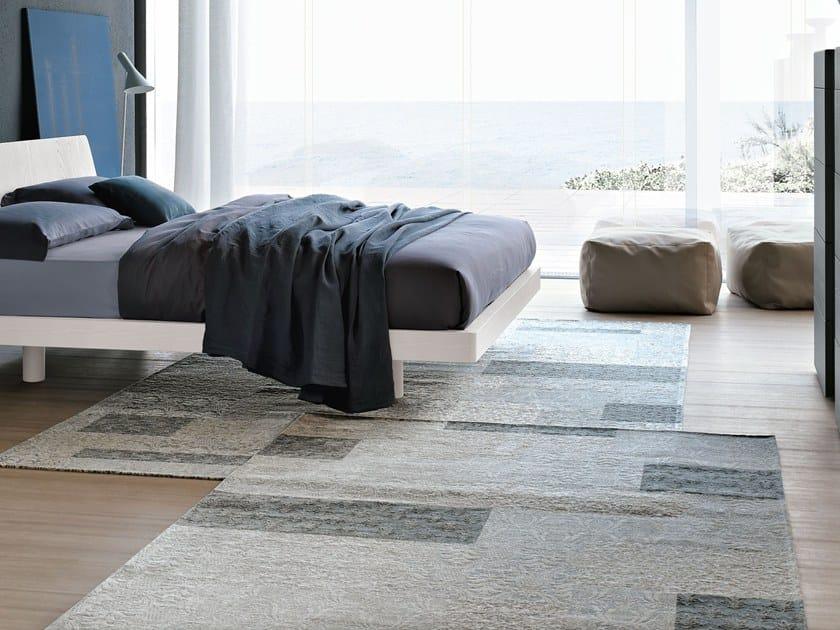 Rectangular chenille rug DECOR | Rug by Adriani e Rossi edizioni