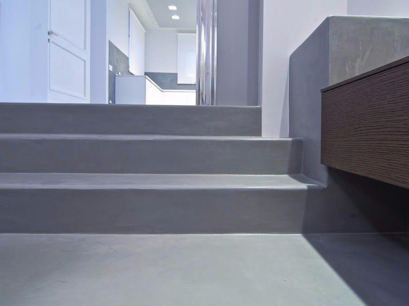 Synthetic material flooring DECORESINA FLOOR by NAICI ITALIA