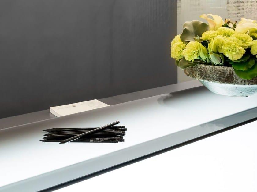 Satin glass furniture foil DECORFLOU® BIFLOU by OmniDecor®