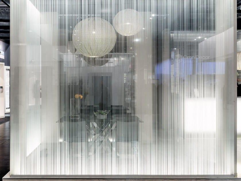 Decorated glass DECORFLOU® DESIGN by OmniDecor®