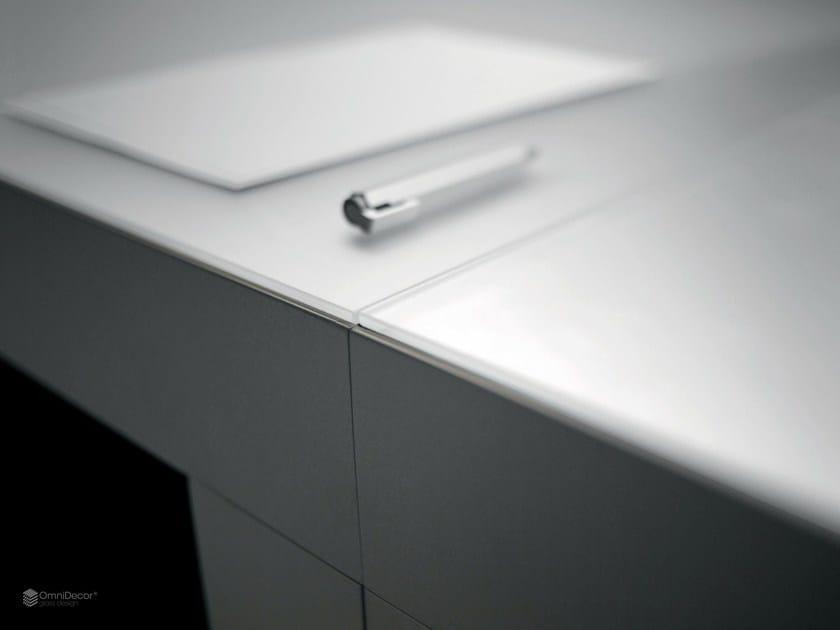 Satin glass furniture foil DECORFLOU® MIRROR by OmniDecor®
