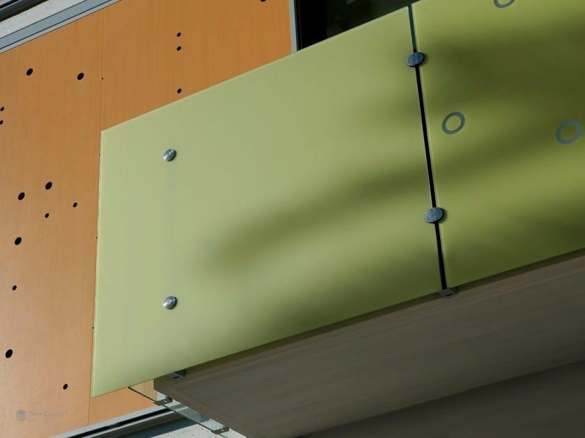 Stained glass Railing DECORGEM® by OmniDecor®