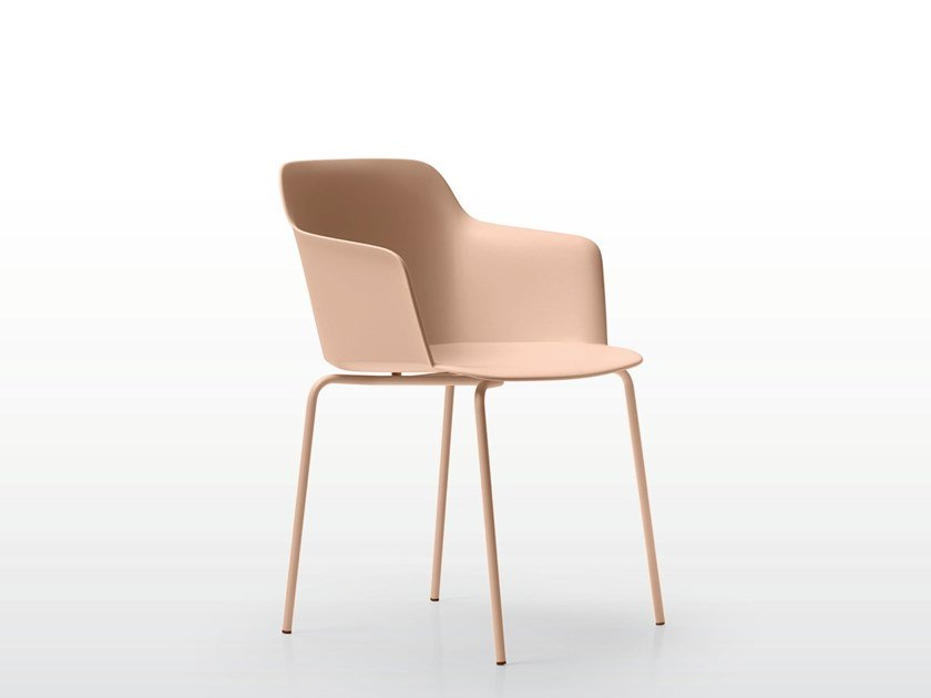 Polypropylene chair with armrests DEEP PLASTIC | Chair by Quinti Sedute