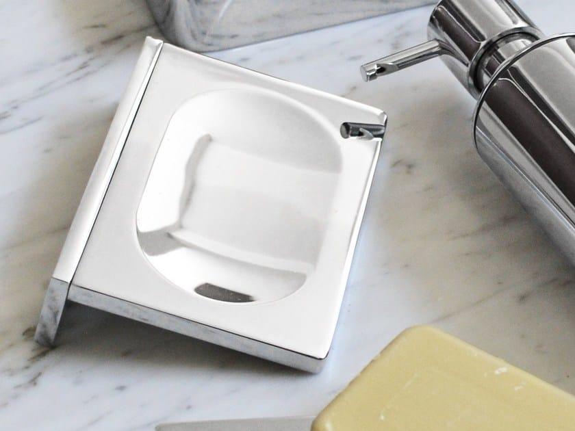 Wall-mounted brass soap dish DEEP | Wall-mounted soap dish by mg12