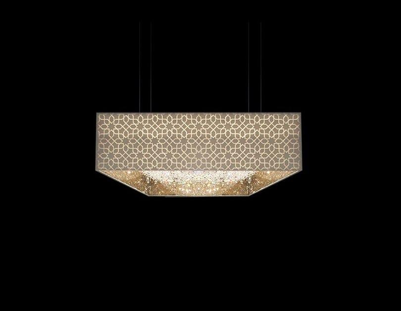 Crystal pendant lamp DEEP SKY ORIENT   Crystal pendant lamp by Manooi