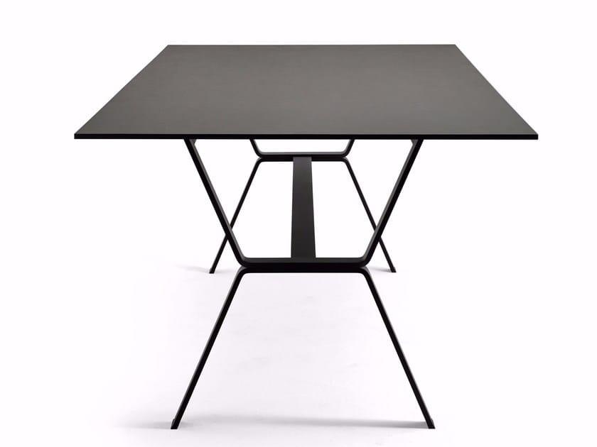 Rectangular dining table DEER by Varaschin