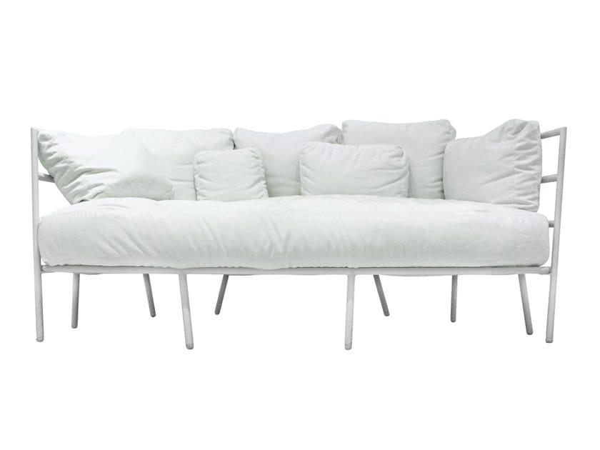 3 seater fabric garden sofa DEHORS - 371 by Alias