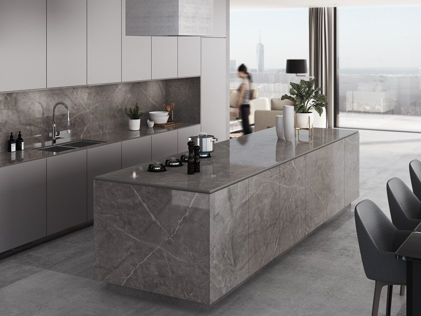 Furniture foil with stone effect DEKTON® KORSO by Cosentino