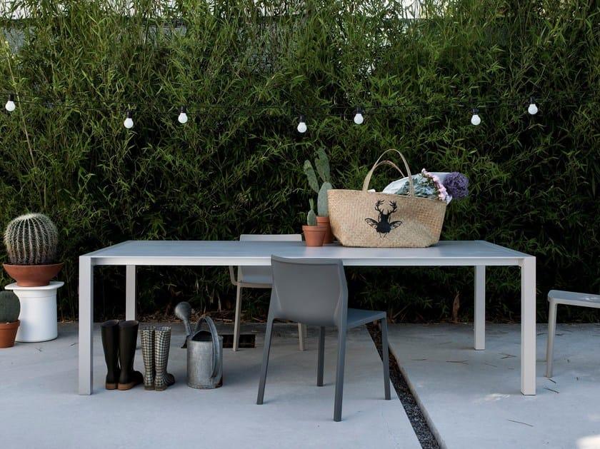 Dekton® garden table SUSHI DEKTON® by Kristalia
