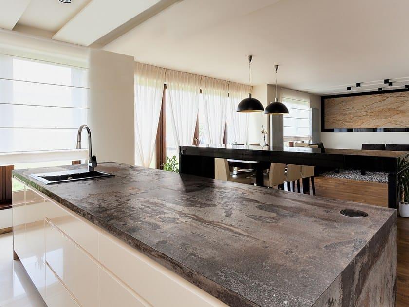 Furniture foil with stone effect DEKTON® TRILIUM by Cosentino