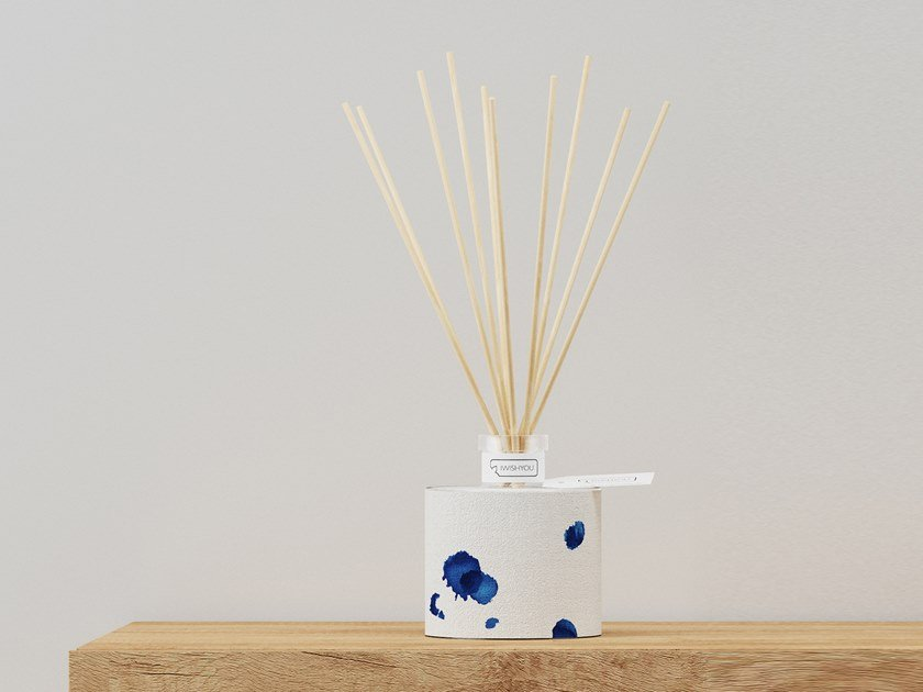 Natural stone Air freshener dispenser DELFT BLUE Prestige - Tabacco e Agrumi by IWISHYOU