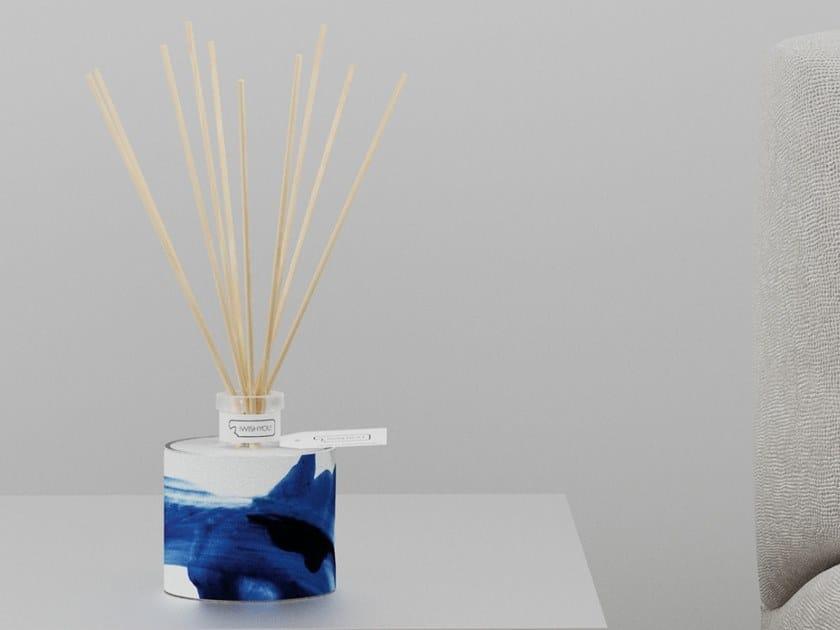 Natural stone Air freshener dispenser DELFT BLUE Prestige - Uva e Mirtilli by IWISHYOU