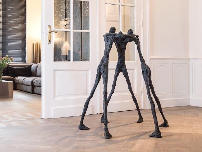 Bronze sculpture DELIBERATE by Gardeco