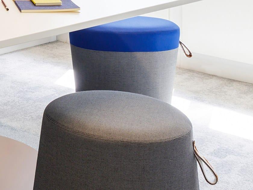 La Rotondo In Design Manufacture Du Tessuto Delphine Pouf N8Onmy0wv