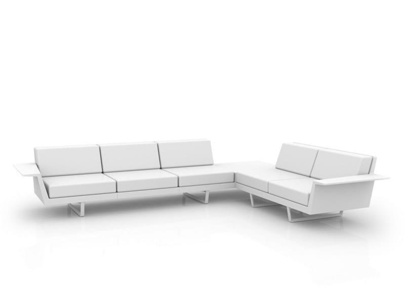 Modular garden sofa DELTA | Modular garden sofa by VONDOM