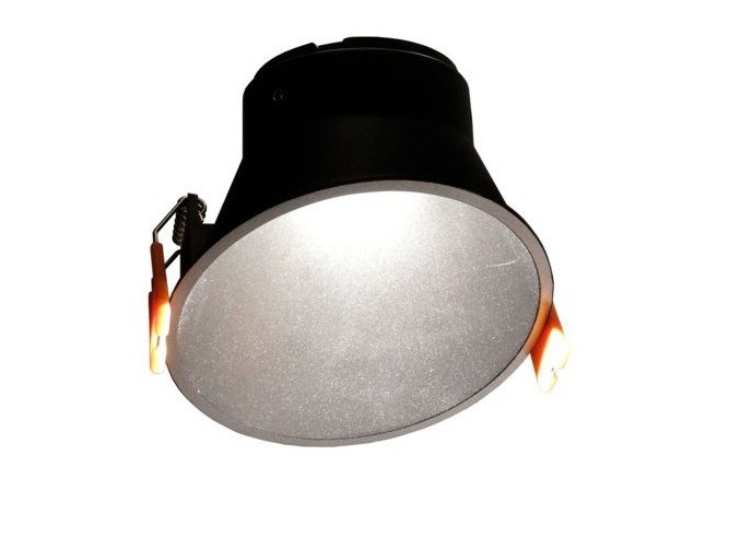 LED recessed aluminium ceiling lamp DEM ASI by LED BCN