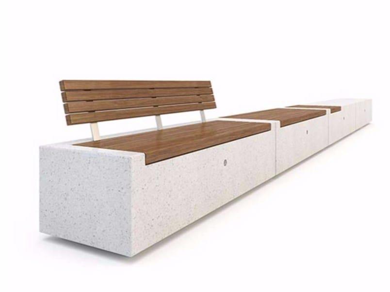 Modular Bench DEMETRA by Bellitalia