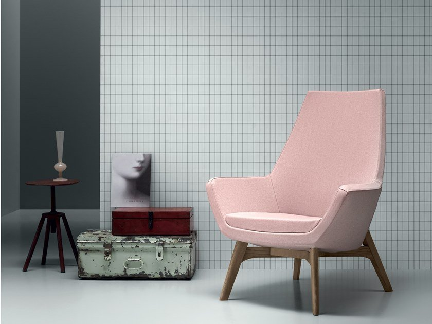 Armchair with armrests DEMI UP/DOWN by Md House