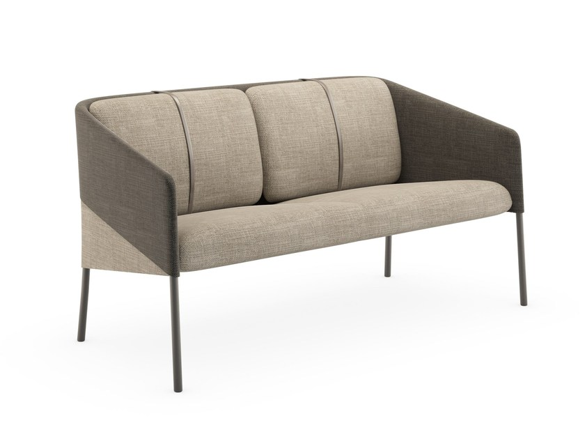 Contemporary Style Fabric Small Sofa DEMOISELLE | Fabric Small Sofa By  Infiniti