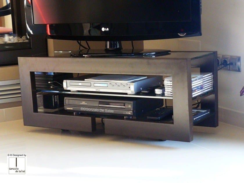 Low lacquered TV cabinet DENDRA by Gonzalo De Salas