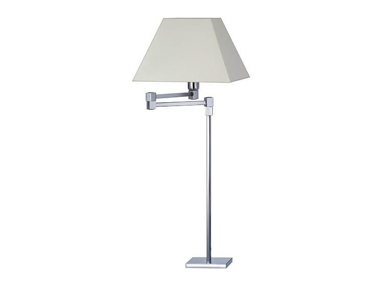 Halogen canvas desk lamp DENISE 24-30 by Quicklighting