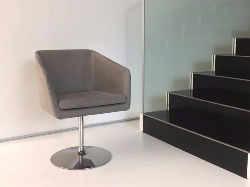Swivel upholstered chair DENISE   Swivel chair by ALIVAR