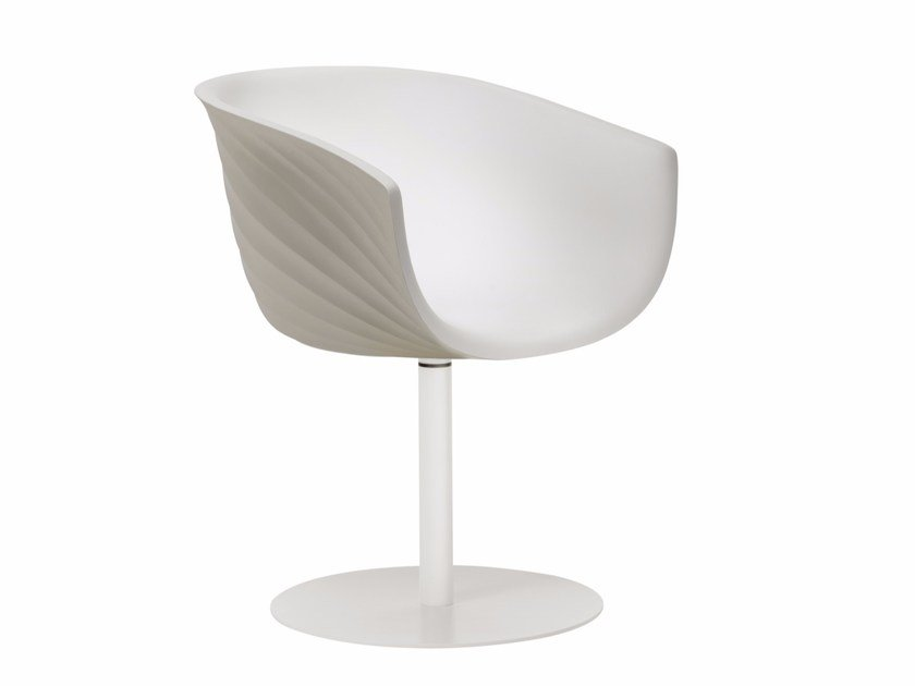 Polyurethane reception chair DERBY S0091 by Segis