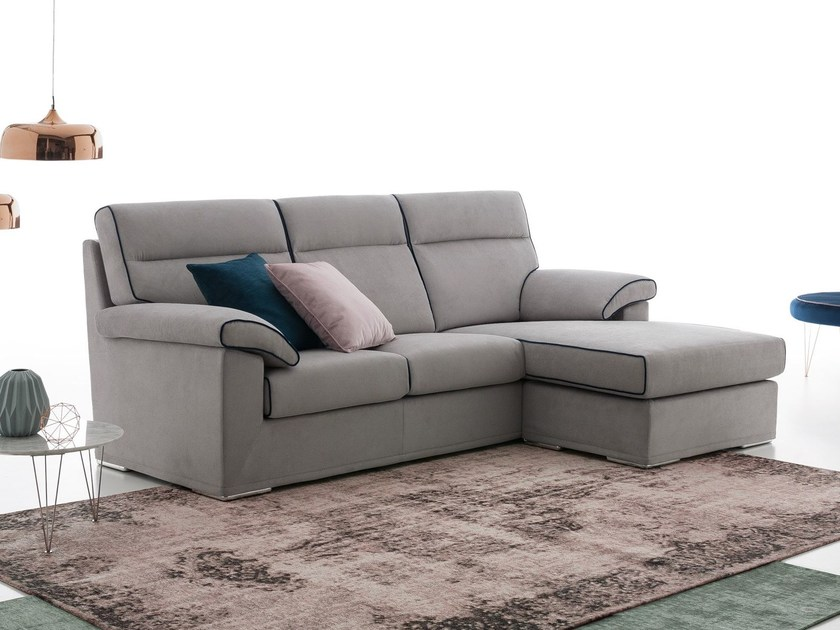 WINSTON   Sofa with chaise longue Softliving Collection By Felis