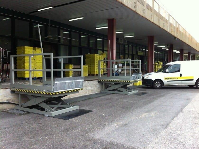 Loading ramp DESCENDER FOR LOADING/DOWNLOADING by RDT Elevazione