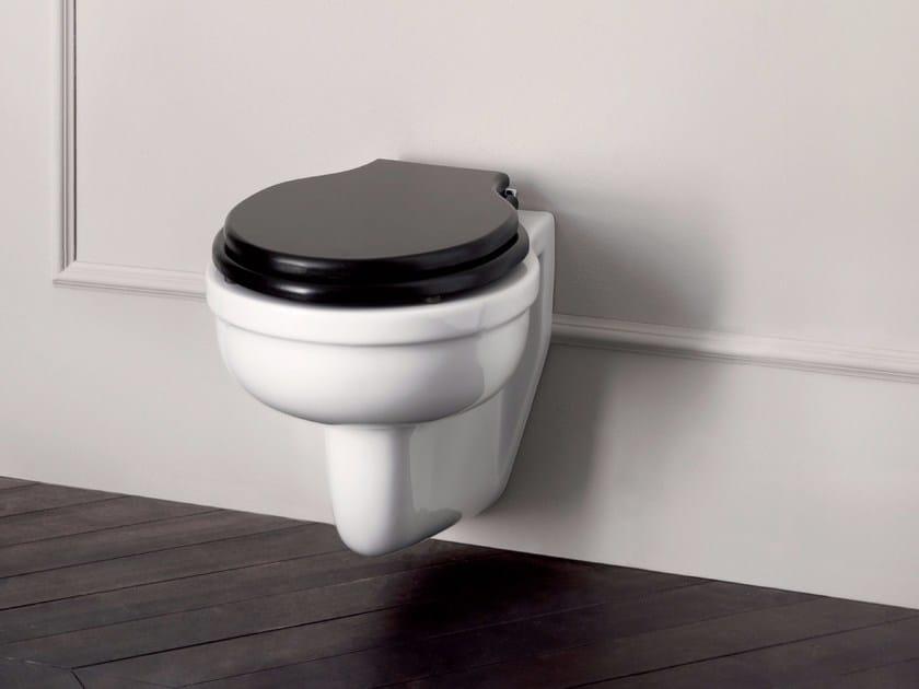 Wall-hung ceramic toilet DESDEMONA | Wall-hung toilet by BATH&BATH