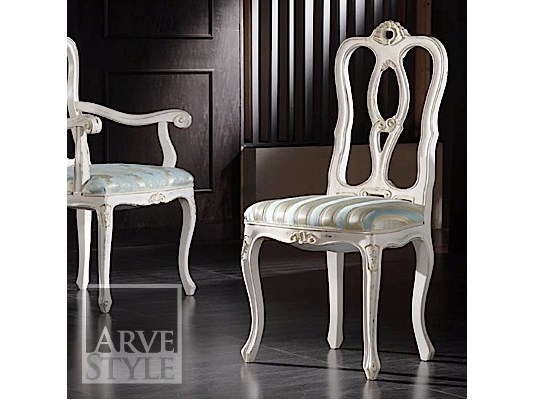 Upholstered open back chair DESIREE | Chair by Arvestyle