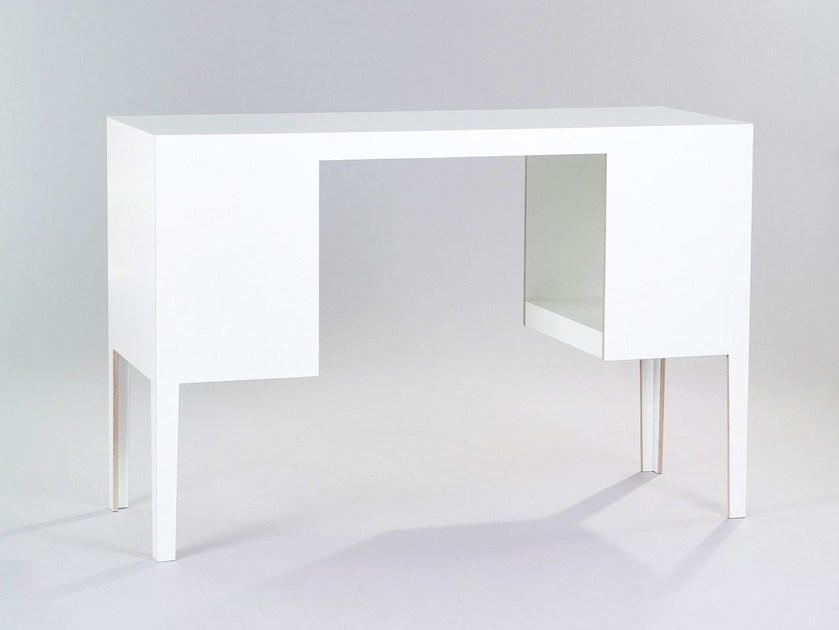 Freestanding storage unit DESK | Storage unit by Morgen