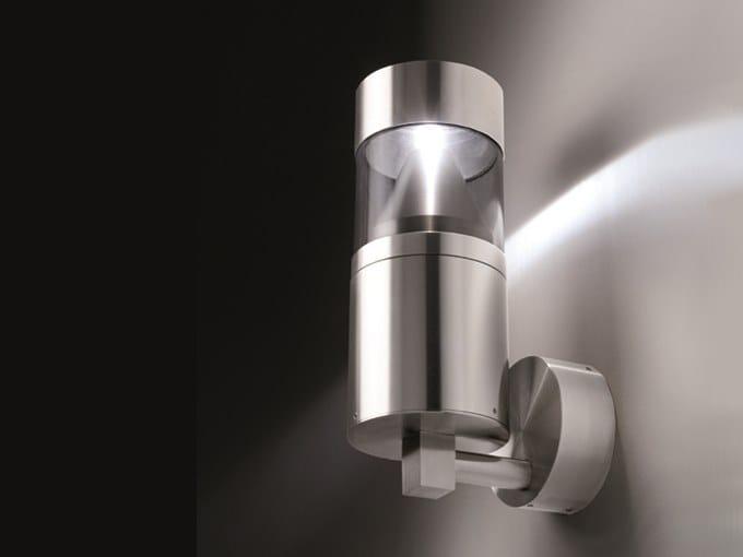 Applique d extérieur led en acier inoxydable despo d collection