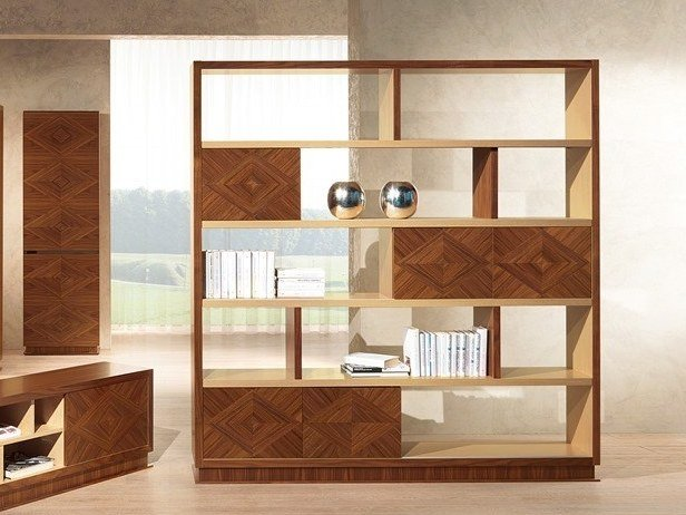 Contemporary style open wooden bookcase ORIGINAL LIFESTYLE   Bookcase by Carpanelli Contemporary
