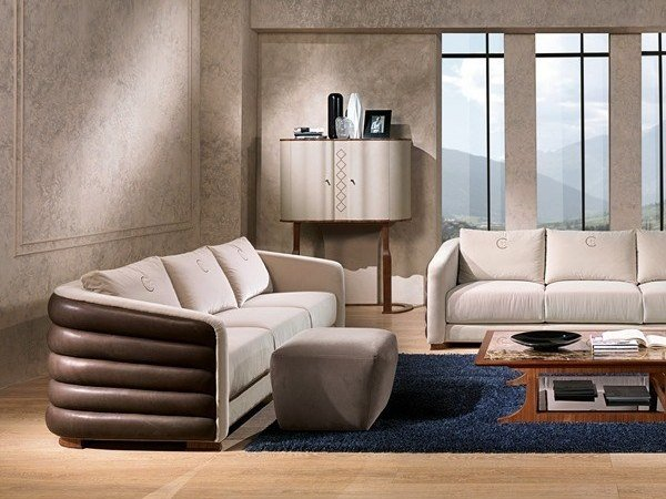Leather sofa DESYO | Sofa by Carpanelli Contemporary