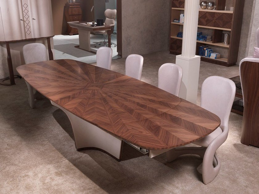Wooden living room table DESYO | Table by Carpanelli Contemporary